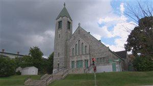 L'église Sainte-Jeanne d'Arc à Sherbooke, sur la rue Galt