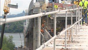 Les travaux sur le pont Mercier auront duré 8 ans.
