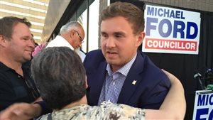 Michael Ford, le neveu de l'ancien maire Rob, a été élu au conseil municipal.
