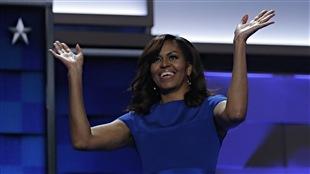 La première dame des États-Unis tente d'unir les démocrates à la convention qui se déroule à Philadelphie