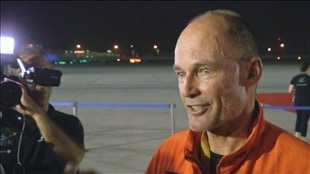 Bertrand Piccard, copilote du Solar Impulse 2.