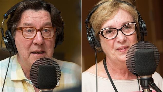 Gilles Renaud et Louise Turcot