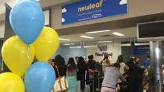 Premiers vols de NewLeaf à Saskatoon et Regina