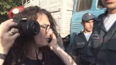 Arrestation de l'actrice canado-arménienne Arsinée Khanjian