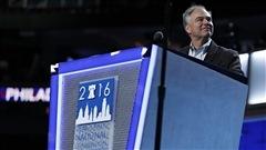Le sénateur Tim Kaine officiellement candidat démocrate à la vice-présidence