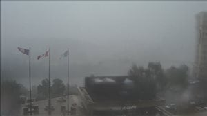 Une tempête éclair a frappé Edmonton l'après-midi du 27 juillet 2016.