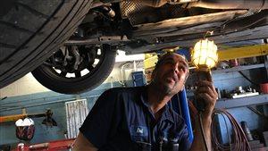 Dal Kooner, gérant du garage Alpha Auto