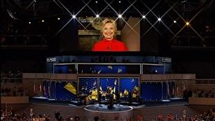 Hillary Clinton est passée à l'histoire en étant investie, hier soir, candidate du Parti démocrate pour la présidentielle de novembre
