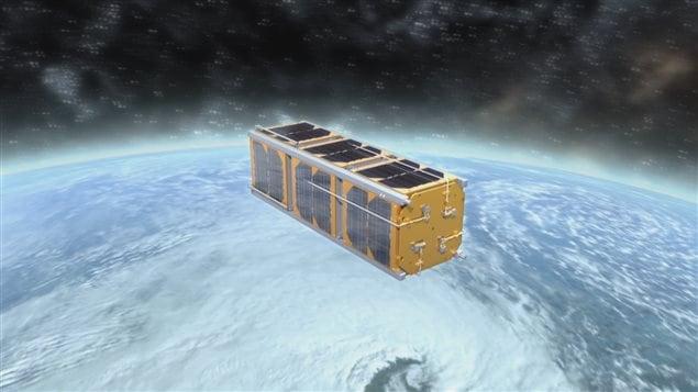 Une simulation de la mission de l'Experimental Alberta Number One.