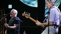 David Gilmore et Roger Waters en 2010