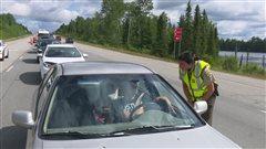Opération prévention sur les chantiers routiers de la région
