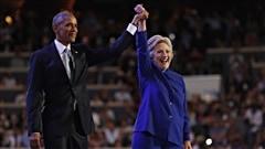 Barack Obama appelle les Américains à voter pour Hillary Clinton