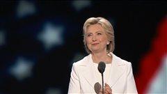 Fin de la convention démocrate aux États-Unis