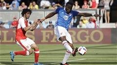 Drogba et les vedettes de la MLS défaits par Arsenal