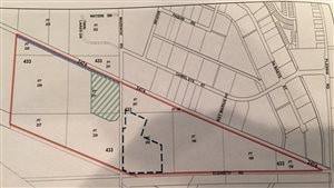 C'est la vente de ce terrain au sud du parc industriel de Saint-Boniface qui cause problème pour le promoteur immobilier Terracon