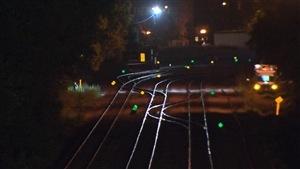 Des ossements possiblement d'origine humaine ont été découverts à proximité de cette voie ferrée à Montréal.