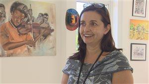 La nouvelle directrice de la Maison des artistes visuels francophones, Alexandra Keim.