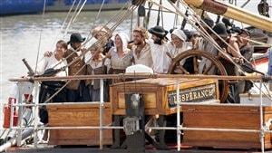 La grande traversée vers la Nouvelle-France prend fin