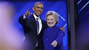 Le président américain, Barack Obama, donne son appui à Hillary Clinton en vue de l'élection présidentielle de novembre