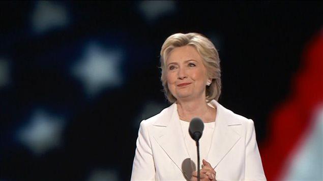 Hillary Clinton, candidate démocrate à la présidence des États-Unis