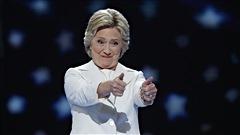 Hillary Clinton accepte l'investiture du Parti démocrate en vue de l'élection présidentielle