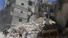 Appels à la sécurisation des «corridors humanitaires» à Alep