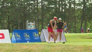 Une centaine de golfeuses participaient au Championnat canadien de golf amateur féminin, à New Minas.