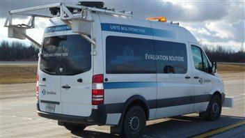Un camion et un logiciel pour déterminer les travaux d'asphaltage à Trois-Rivières