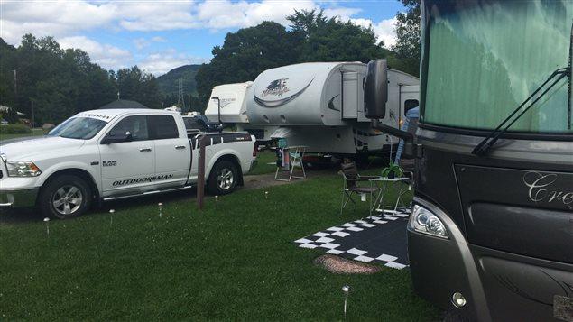 Les campings sont bondés dans la région de Québec