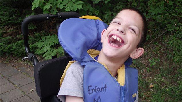 Nathan, 11 ans, est un habitué du Camp Papillon.