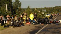 Un résident de Boisbriand mort dans un carambolage entre des motocyclettes à Edmundston