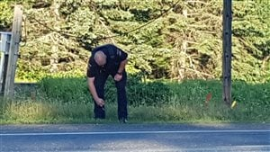 Un policier à Edmundston