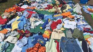 Vêtements usagés