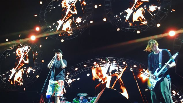 Red Hot Chili Peppers au festival Osheaga