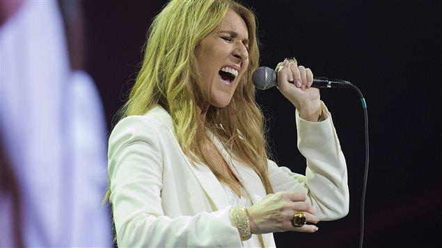Céline Dion au Centre Bell le 31 juillet 2016