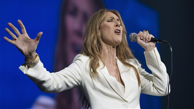Céline Dion en spectacle au Centre Bell