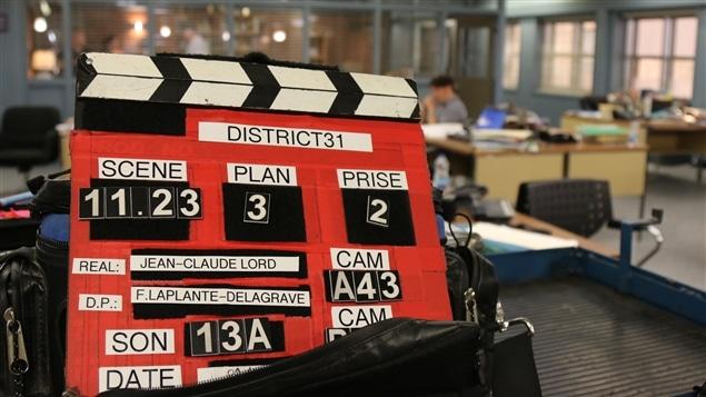 Clap du tournage de District 31