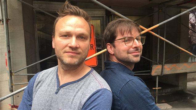 Jean-Sébastien Lozeau et Sammy Najar, les cofondateurs de Commentts