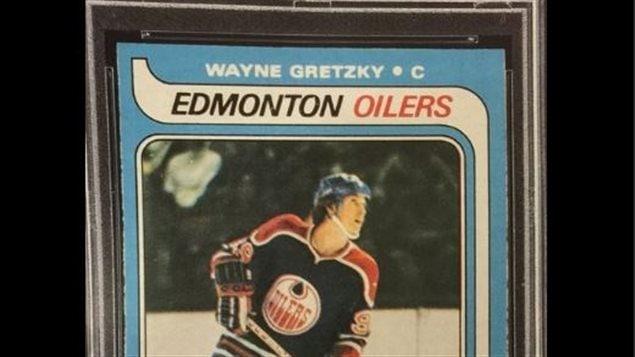Plus de 600 000 $ pour une carte de Gretzky