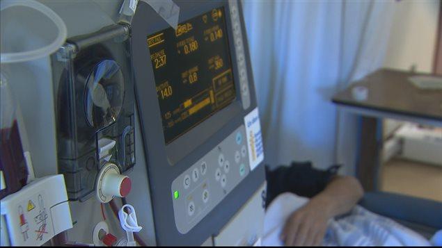 Un patient recevant un traitement d'hémodialyse (archives).