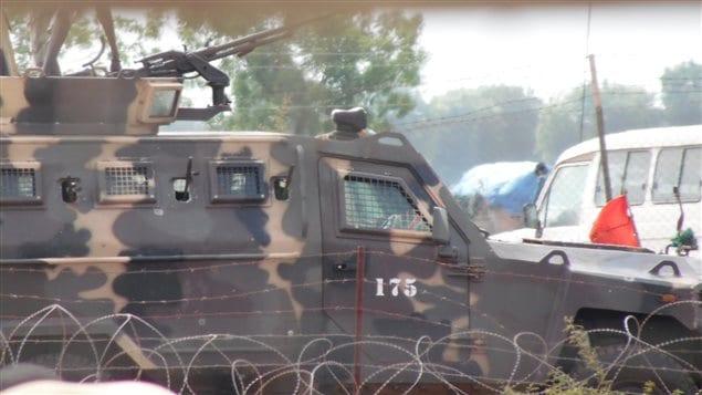 Streit Group, à travers son usine aux Émirats arabes unis, a exporté 173 véhicules Cougar Typhoon, utilisés pour transporter des troupes, au Soudan du Sud en 2014