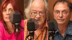 Chloé Sainte-Marie, Raôul Duguay et Normand Baillargeon défendent la poésie