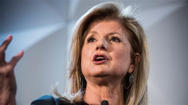 Arianna Huffington, cofondatrice d' Huffington Post , quitte son poste à la rédaction
