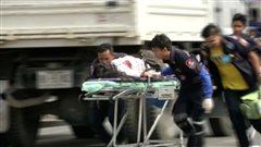 Attentats en Thaïlande: «pas du terrorisme», dit la police
