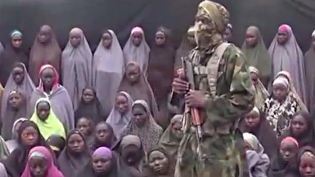 Extrait de la vidéo diffusée sur Youtube par Boko Haram