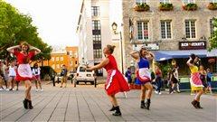 De la danse contemporaine dans les espaces publics