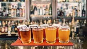 Jolie variété de bières artisanales