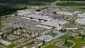 La base des Forces canadiennes de Valcartier