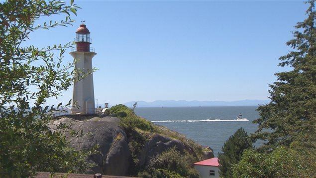 Le premier phare a été construit en 1874, il était tout en bois.