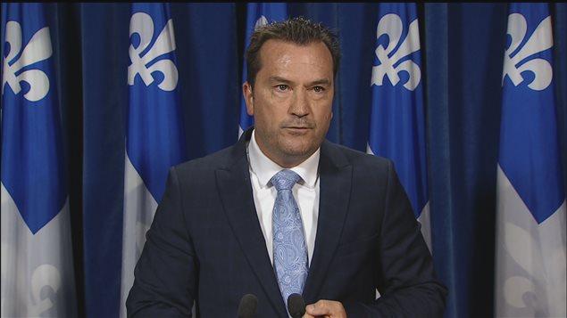 Le député péquiste de Sanguinet, Alain Therrien